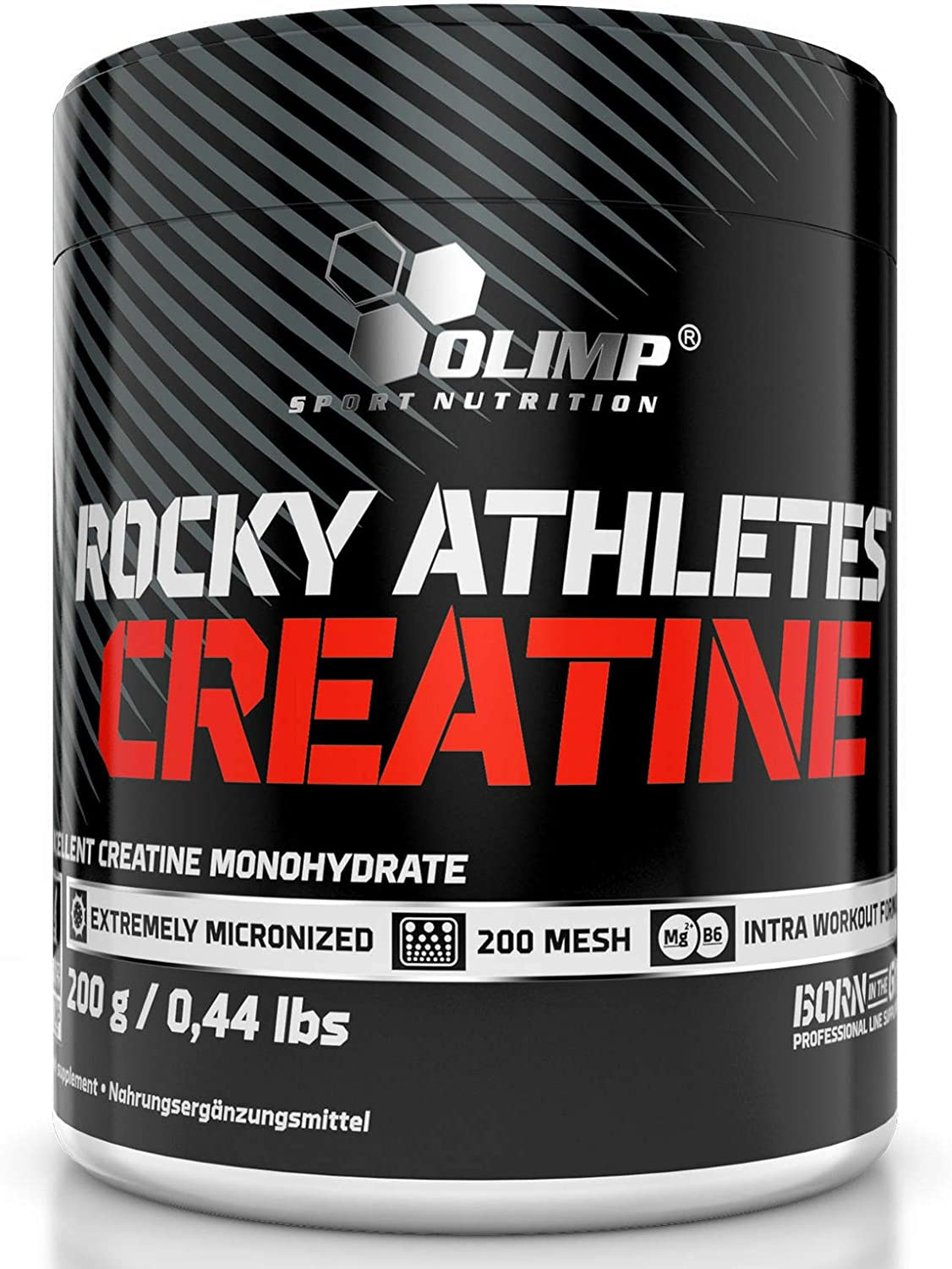 Excellence Rocky Athletes safety CREATINE MONOHYDRATE 200g - Anabolic Food Supplem