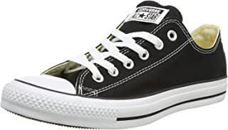 Converse Unisex Chuck Taylor All Star Ox (15 D(M), Black)
