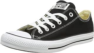 Converse Unisex Chuck Taylor All Star Ox Low Top Classic Black Sneakers - 6.5 B(M) US Women / 4.5 D(M) US Men