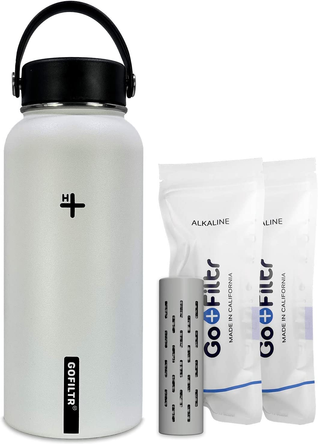 GOFILTR Alkaline 32oz. 950ml Stainless Water Hydr Limited time cheap sale mart Bottle Steel