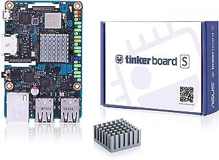 ASUS Tinker Board S Quad-Core 1.8GHz SoC 2GB RAM 16GB eMMC Storage GB LAN Wi-Fi & GPIO connectivity Motherboards