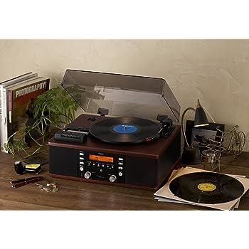 TEAC ターンテーブル/カセットプレーヤー付CDレコーダー LP-R520(WA)
