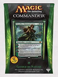 Magic The Gathering Commander 2014 Guided by Nature Deck