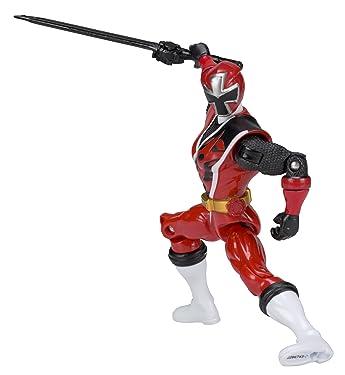 Power Rangers Ninja Steel 5-Inch Red Ranger Action Hero Figure