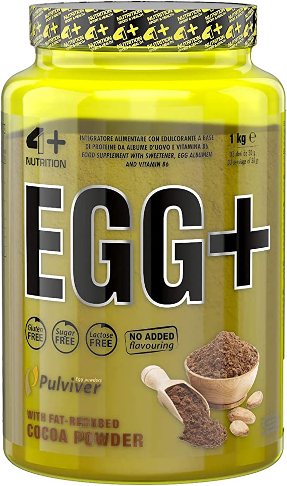 4+ Sport Nutrition Egg + 1000 g, 1 kg, 1 unidad de proteína de ...