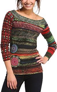 Desigual Women's Woman Long-Sleeve Morris Pullover
