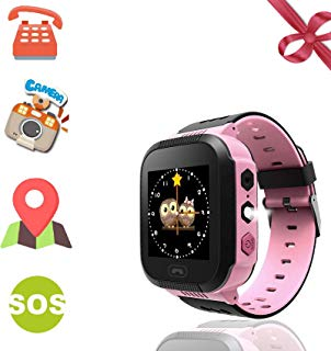 Benobby Kids Smartwatches, for Boys and Girls from 3-14 Years Old, Daily Use Waterproof/GPS+LBS Positioning/Two-Way Communication/SOS Warning/Flashlight/Alarm, Best Present for Kids.(Pink)