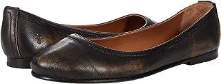 حذاء باليه مسطح للنساء من Frye ، بني داكن، 9. 5 US