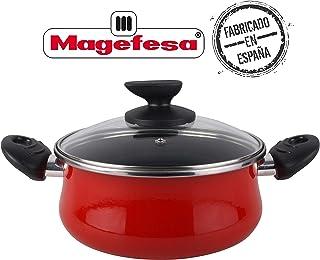 Desconocido Magefesa Praga Cacerola, Rojo, 20 cm