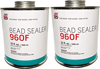 Rema Tip Top 960F Tire Bead Sealer Can with Brush Top - (32 fl. oz. / 946 ml), (2 Cans)