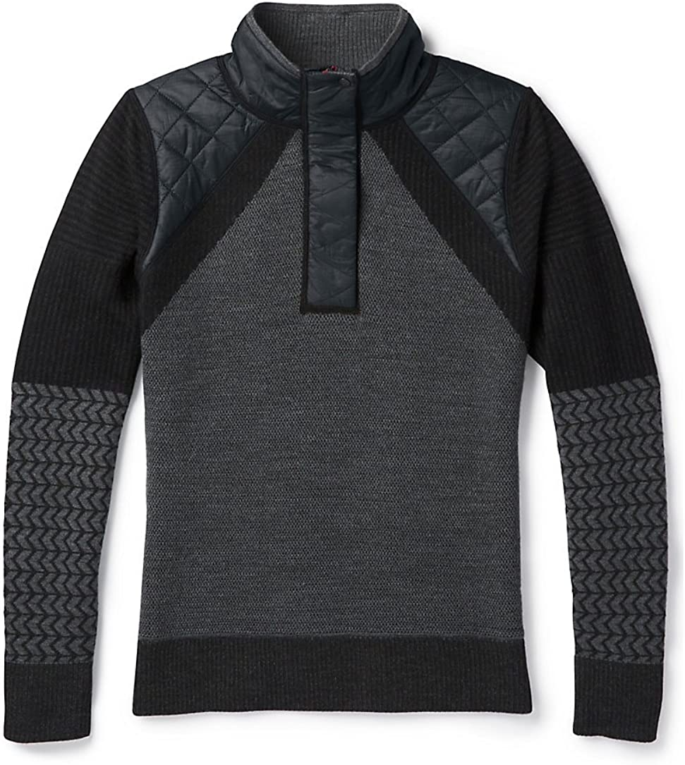 Smartwool Women's Ski Ninja Pullover Sweater Black S