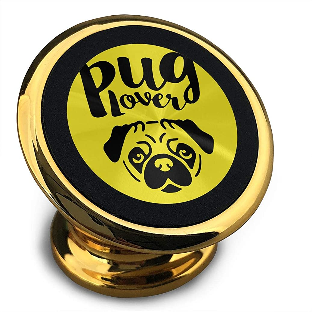 Pug Love Dog Funny Cellphone Mount Magnetic Car Stand k500857084974