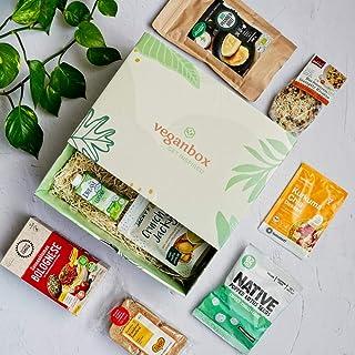 Vegan Box Highlightbox Food, Überraschungsbox, Geschenkbox, 100% vegan, mit mind. 9 Produkten