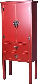 Palazzo Int mya018 - Armario chino para bodas color rojo