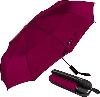 Ombrello Portatile Automatico Antivento, CABIN GO 4450 Ombrello Pieghevole Compatto Resistente Leggero con Custodia Imperm...