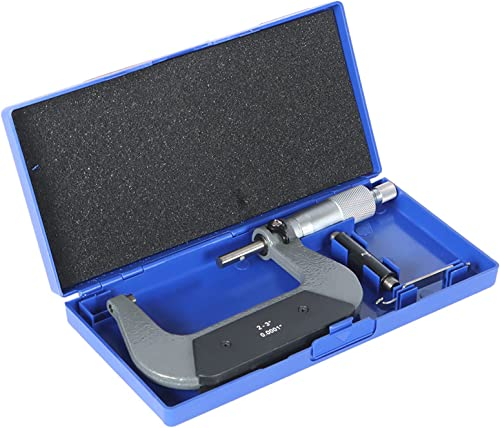"""new arrival New 2-3"""" Precision Outside Micrometer 0.0001"""" popular Carbide discount Tipped outlet online sale"""