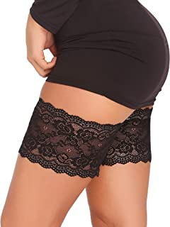 Amorbella Elastic Anti-Chafing Prevent Thigh Chafing Sexy Lace Leg Bands