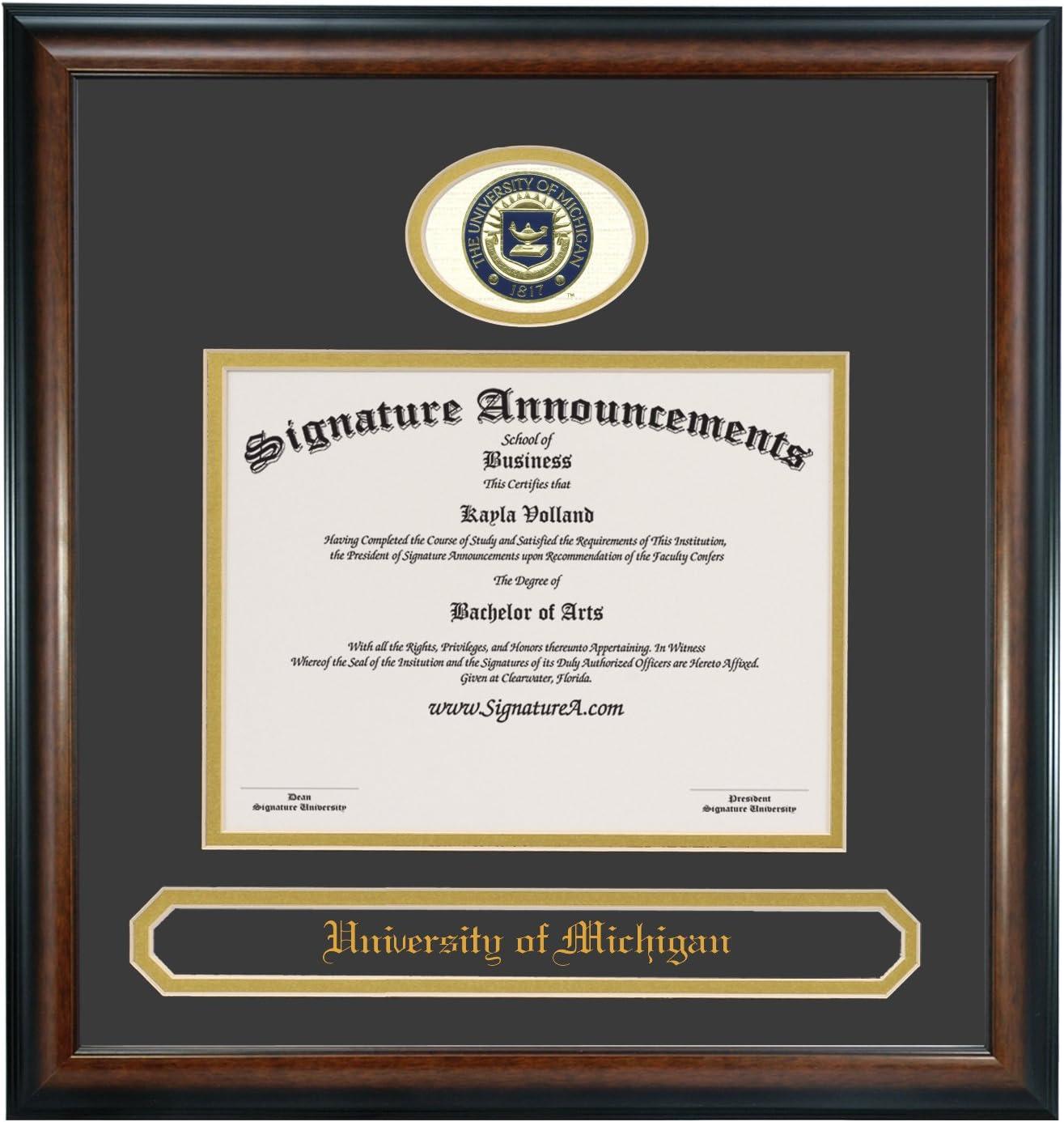 Special price Signature Announcements University-of-Michigan-Dearborn Undergra Max 83% OFF