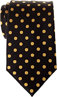 Classic Polka Dots Woven Microfiber Men's Tie - Various Colors