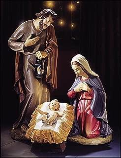 Joseph Mary and Baby Jesus 3 Piece Nativity Set 40