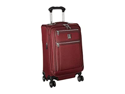 Travelpro Platinum(r) Elite 21 Expandable Carry-On Spinner (Bordeaux) Luggage