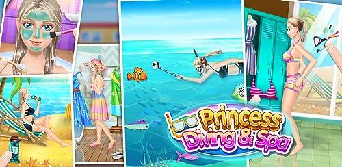 『ダイビングプリンセス&SPA - 無料女の子ゲーム』のトップ画像