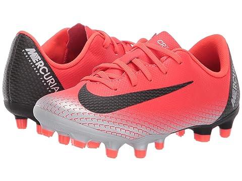 24c169231b6e Nike Kids Vapor 12 Academy CR7 FG MG Soccer (Toddler Little Kid) at ...