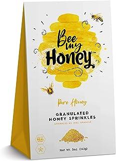 Bee My Honey Granulated Honey Crystals – Made with Real Honey – 5 Ounce Box (Cinnamon Roll)