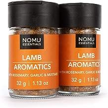 NOMU Essentials Lamb Seasoning Spice (2.26 oz | 2-pack) | MSG & Gluten Free, Non-GMO & Non-Irradiated