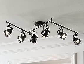 Hamilton 6-Light Bronze Swing Arm LED Track Light Kit - Pro Track