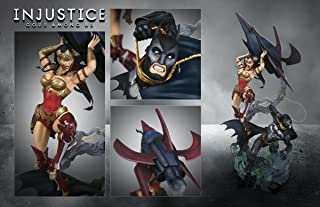Injustice Gods Among Us Collector's Edition Statue Figurine Batman Vs Wonder Woman Figure
