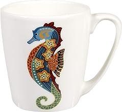 Churchill Paradise Fish Seahorse Fine China Gift Coffee Mug, Made In England