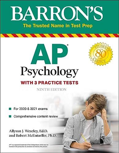Books By Robert Mcentarffer_barrons Ap Psychology ...