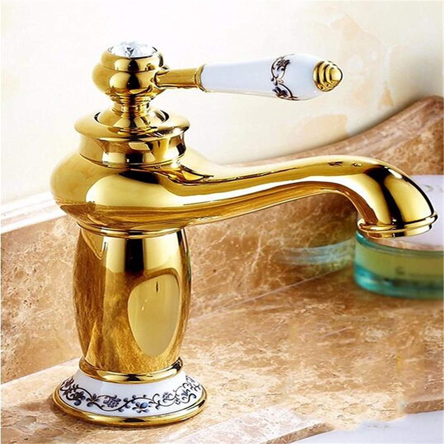 Chrome Kitchen Sink Tapsink Mixer Tap Faucet Modern Retro Style Copper Basin Hot and Cold Single Hole Sink Mixer