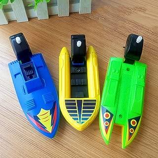 Brave669 Toys for Children Fashion &Plastic Wind-up Speed Boat Motorboat Kids Children Summer Water Sports Bath Toy, Best Gift for Child