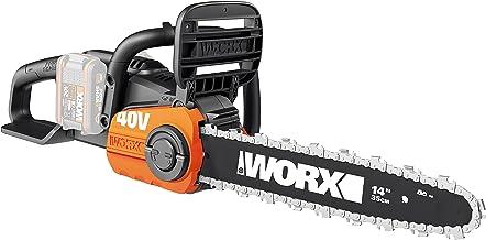 Sponsored Ad – WORX WG384E.9 36V (40V Max) Dual Battery Cordless 35cm Brushless Chainsaw - Body Only