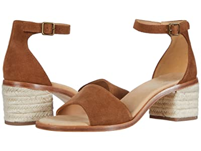 Soludos Capri Mid Heel (Walnut) Women