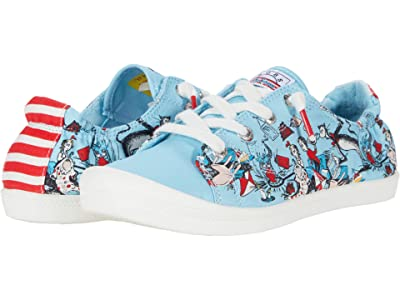 BOBS from SKECHERS Beach Bingo Good Trick (Blue Multi) Women