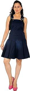 FCK-3 Women's Stretchable Denim Skirt Dungaree
