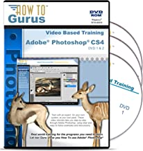 Adobe Photoshop CS4 Tutorial Videos on 3 DVDs, 25 Hours in 302 Video Lessons, Computer Software Video Training