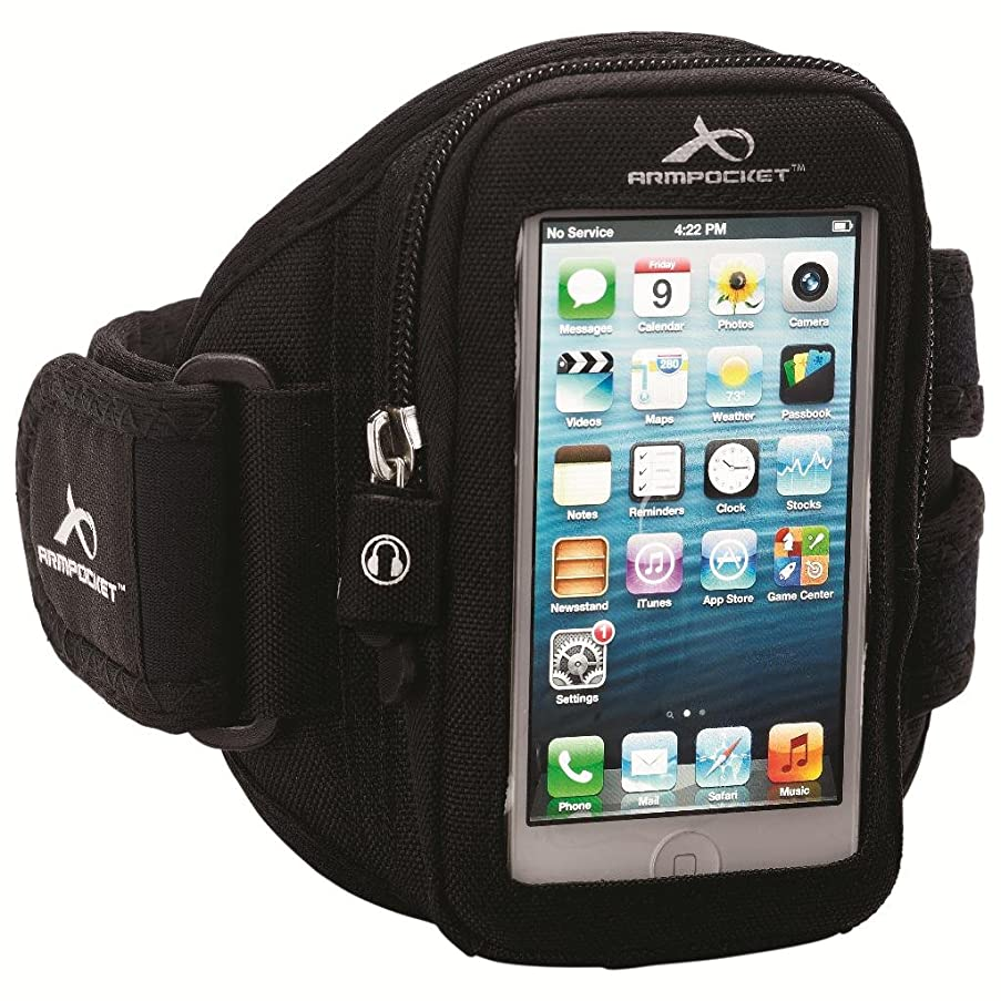 Armpocket Aero i-10 armband for iPhone SE, 5/4 or devices and cases up to 5