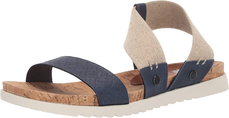 Yellow Box Women's Meera Flat Sandal