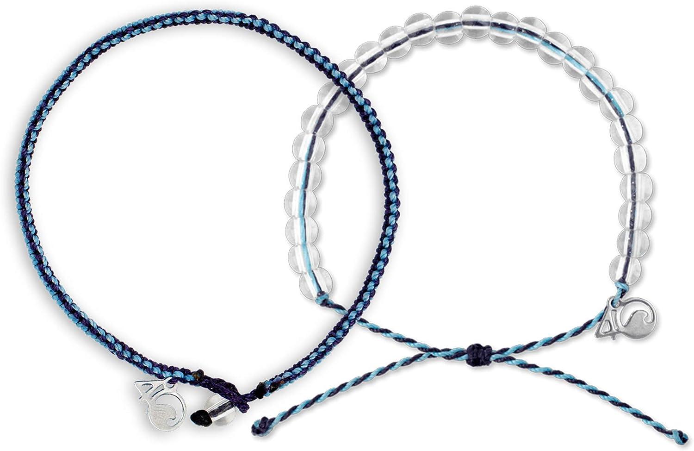 4ocean Beaded & Braided Bracelet 2-Pound Pack
