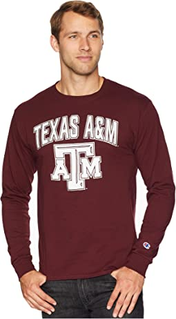 Texas A&M Aggies Long Sleeve Jersey Tee