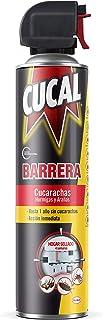 Cucal Aerosol Barrera contra Cucarachas, Hormigas y Arañas - 400 ml