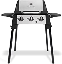 Broil King 952654 Porta-Chef 320 Portable Gas Grill, 1-Burner, Stainless Steel & Black