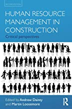 Best human resource management in construction critical perspectives Reviews