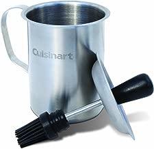 Cuisinart CBP-116 Sauce Pot and Basting Brush Set , Stainless Steel