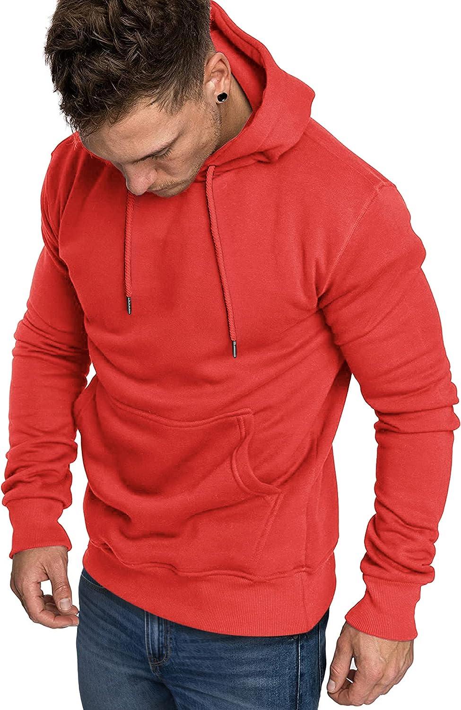 COOFANDY Men's Hoodies Sweatshirts Casual Lightweight Long Sleeve Sports Athletic Hoodied