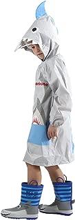 Kid's Rain Jacket/Raincoat 3D Shark Lightweight Rainwear for Boy for Girl